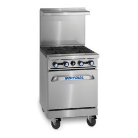 Imperial IR-4 4 Burner Range with Oven