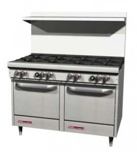 Southbend S60DD Six Burner S-Series Range with Two Ovens