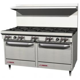 Southbend S60DD-2GL 60in. Six Burner S-Series Range with 24in. Griddle and Two Ovens